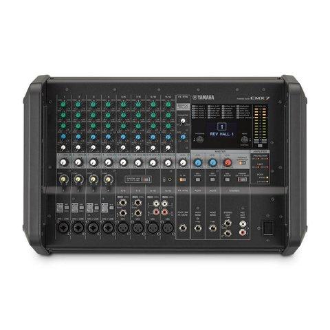 Yamaha EMX7 12 Input Powered Mixer w/ Dual 710 Watt Amp - Used