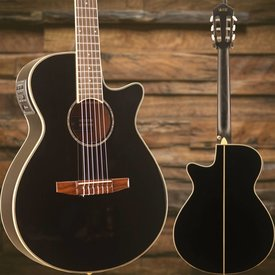 Ibanez Ibanez AEG10NIIBK AE Acoustic Electric Nylon String Guitar Black