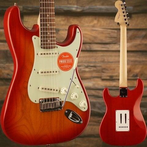 Squier Standard Stratocaster, Rosewood Fingerboard, Cherry Sunburst