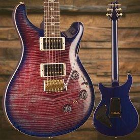 PRS PRS Paul Reed Smith Custom 24 Piezo Ten 10-Top, Pattern Thin Neck, Violet Blue Burst