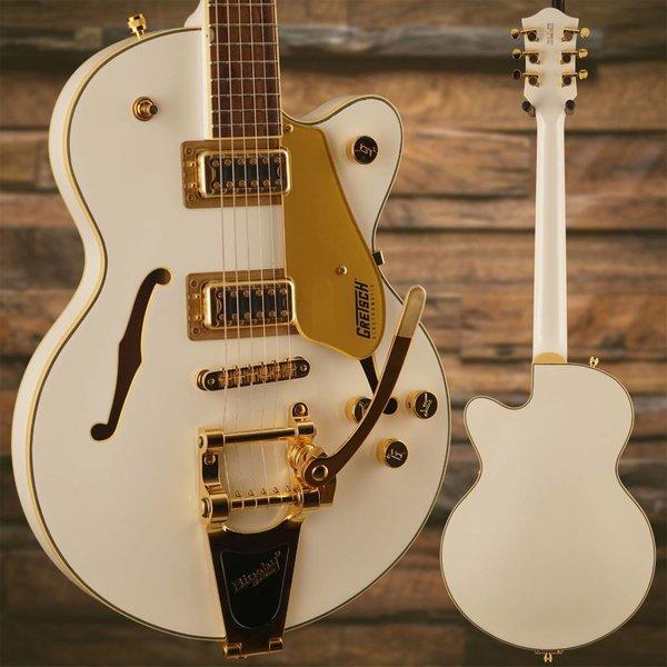 Gretsch Guitars Gretsch G5655TG-LTD Limited Edition Electromatic Center Block Jr. Single-Cut w/ Bigsby & Gold Hardware, Laurel Fingerboard, Snow Crest White