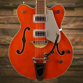 Gretsch Guitars Gretsch G5422T Electromatic Hollow Body Double-Cut with Bigsby, Orange Stain