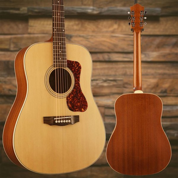 Guild Guild Westerly Collection D-240E Natural w/ Deluxe Bag SN/G21708686
