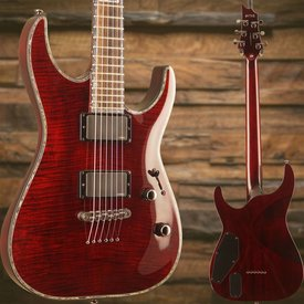 LTD ESP LTD H-1001FM See Thru Black Cherry