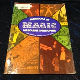Dover Publications Panorama Of Magic by Milbourne Christopher - Book (M7) 1962 Dover G