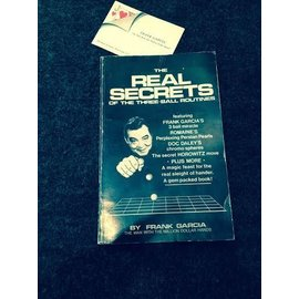 Rare Books - Real Secrets of the Three Ball Routine by Frank Garcia 1978 1st Edition Autographed with business card VG (M7)