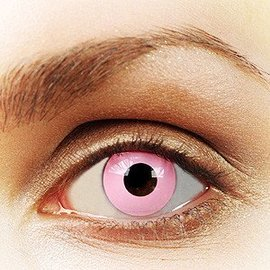 Fine And Clear Pink Out Contact Lenses