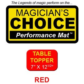 Ronjo Table Topper Close-Up Mat Red Performance