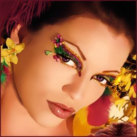 Xotic Eyes And Body Art Jasmine Eye Kit