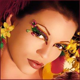 Xotic Eyes And Body Art Jasmine Eye Kit