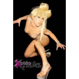 Xotic Eyes And Body Art Pop Star Body Art Kit