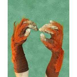 zagone studios Super Action Orangutan Gloves hands