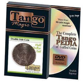 Tango Double Sided Half Dollar, by Tango - Coin (M10)