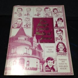 Neilsen Magic Book - USED The Magic Castle Walls of Fame -Autographed- (M7)