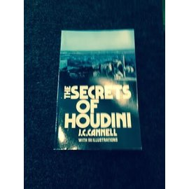 Dover Publications USED The Secrets Of Houdini by J.C. Cannell - Book  (M7)