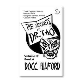 Docc Hillford Book - The Secrets Of Dr. Tao by Docc Hilford (M7)