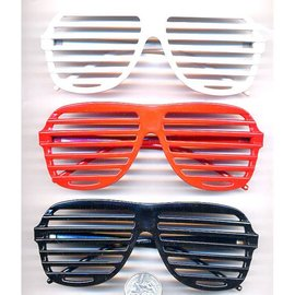 Aviator Blinds Sunglasses Red