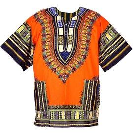 Flashback And Freedom Inc Dashiki Shirt  orng or prple 3XL