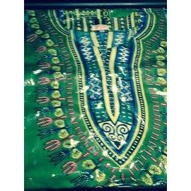 Funry People Dashiki Shirt Large - Green
