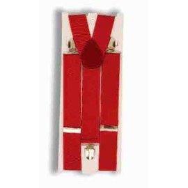 Forum Novelties Suspenders Wide - Red