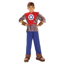 Forum Novelties Magen David - Purim - Jewish Hero Corps chld sm