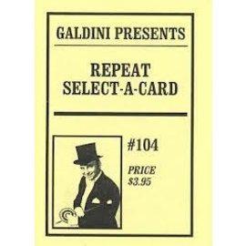 Galdini Repeat Select A Card (M12)