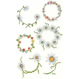Johnson And Mayer Daisy Belly Temporary Tattoos