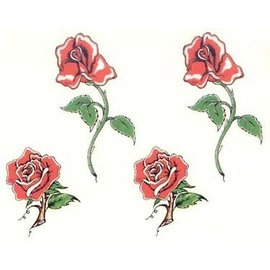 Johnson And Mayer Four Roses Temporary Tattoos