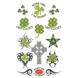 Johnson And Mayer Irish Temporary Tattoos