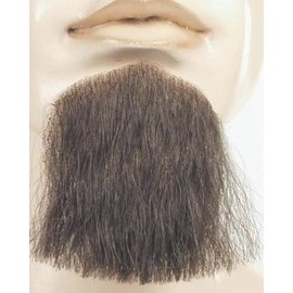 Lacey Costume Wig 1 Point Beard Goatee Med Brown - Human Hair