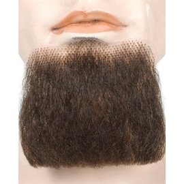 Lacey Costume Wig 3 Point Beard Brown 6 - Human Hair