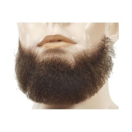 Lacey Costume Wig Beard 5 Point Brown