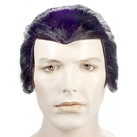 Lacey Costume Wig Dracula Black Wig