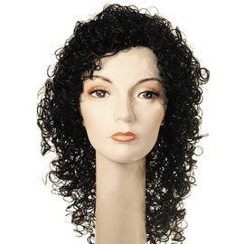Lacey Costume Wig New Curly Michael Black Wig