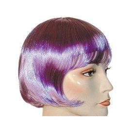 Lacey Costume Wig Lulu Bargain Lt. Purple Wig