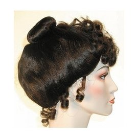Lacey Costume Wig Gibson Girl Deluxe - Brown Wig