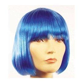 Lacey Costume Wig Lulu, Blue Wig