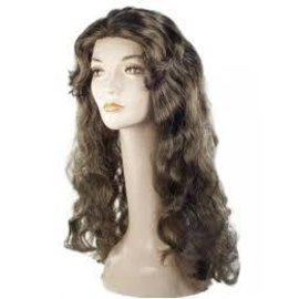 Lacey Costume Wig Deluxe Showgirl M Brown 4 Wig