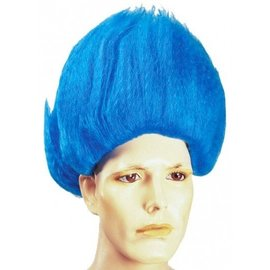 Lacey Costume Wig Thing Blue Wig