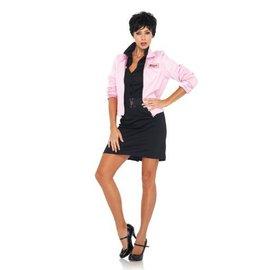 Leg Avenue Pink Ladies Jacket - Leg Avenue Small