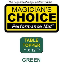 Ronjo Table Topper Close-Up Mat Casino Green Performance