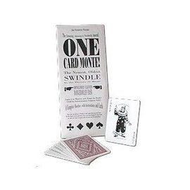 Jim Steinmeyer Card - One Card Monte by Jim Steinmeyer (M10)