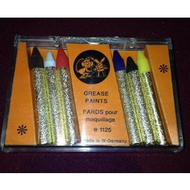 Franco American Grease Paints - 6 Stick Set
