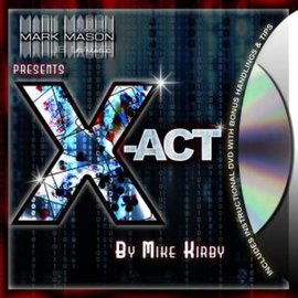 Mark Mason X-Act by Mike Kirby - Card (M10)