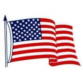 Flag Static Cling 3X5