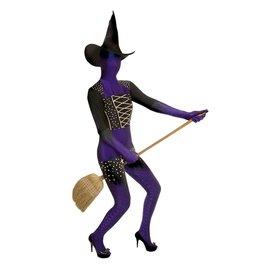morphsuits Purple Witch Morphsuit Medium