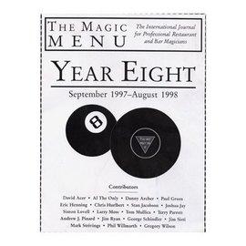 Murphy's Magic Book - The Magic Menu: Year 8 (M7)