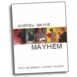 Andrew Mayne Book - Mayhem by Andrew Mayne (M7)