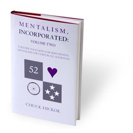 Chuck Hickok Book - Mentalism Incorporated Volume 2 by Chuck Hickok (M7)