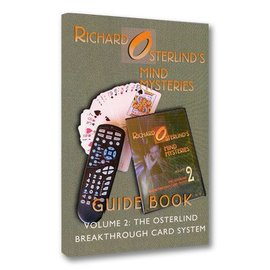 OSTERLIND MYSTERIES Book - Mind Mysteries Guide Book Vol. 2: The  Breakthrough Card System by Richard Osterlind (M7)